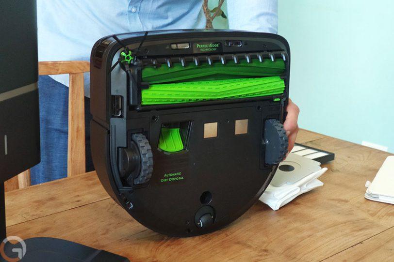 +iRobot Roomba S9 (צילום: רונן מנדזיצקי, גאדג'טי)