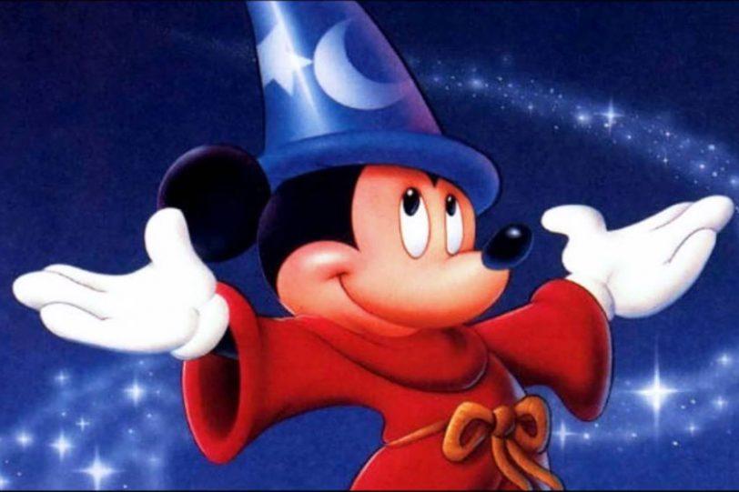 """מיקי מאוס מתוך """"Fantasia"""" (תמונה: Disney)"""