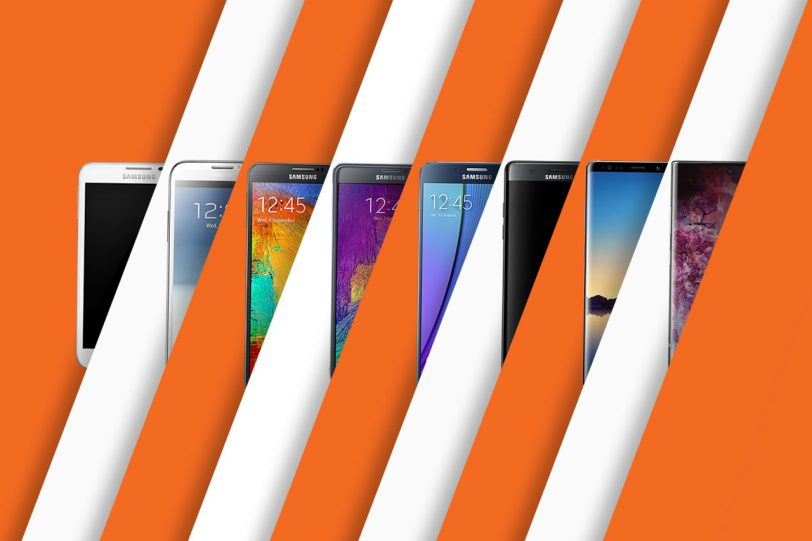 סדרת ה-Samsung Galaxy Note