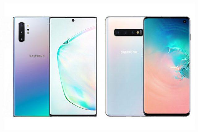 השוואה: Galaxy Note 10 מול Galaxy S10 – עיצוב, מפרט ומחיר