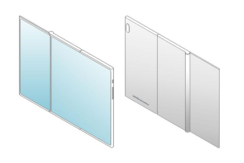 LG Foldable Smartphone (תמונה: letsgodigital)