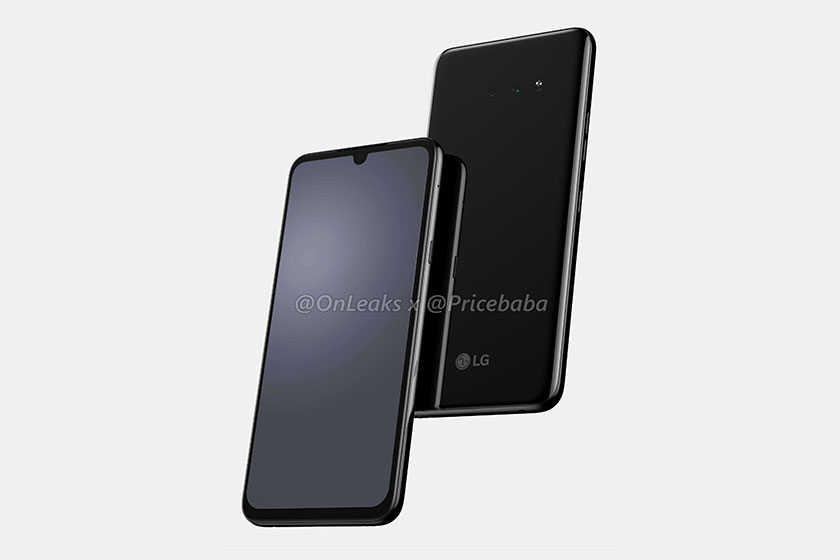 LG G8X (תמונה: Pricebaba)