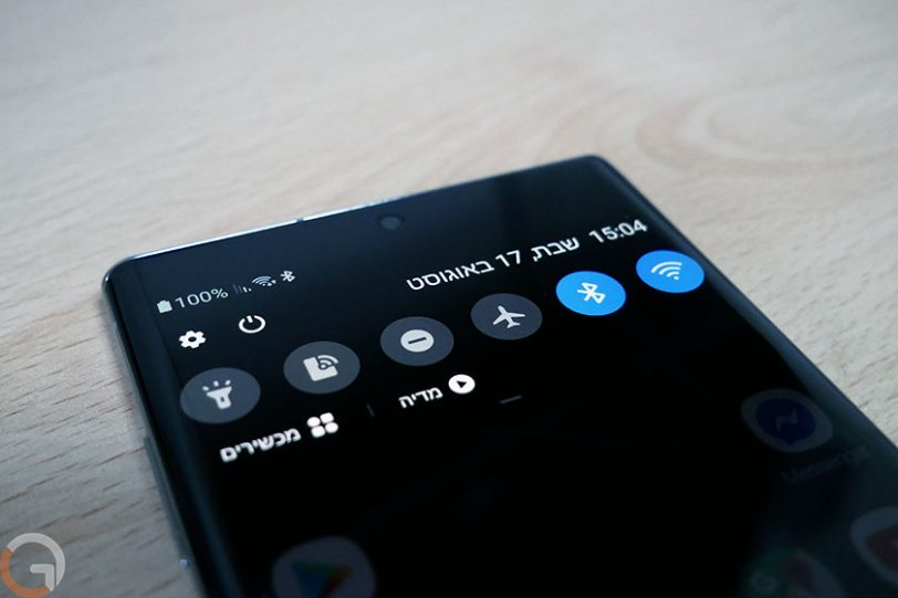 Galaxy Note 10 Plus (צילום: רונן מנדזיצקי, גאדג'טי)