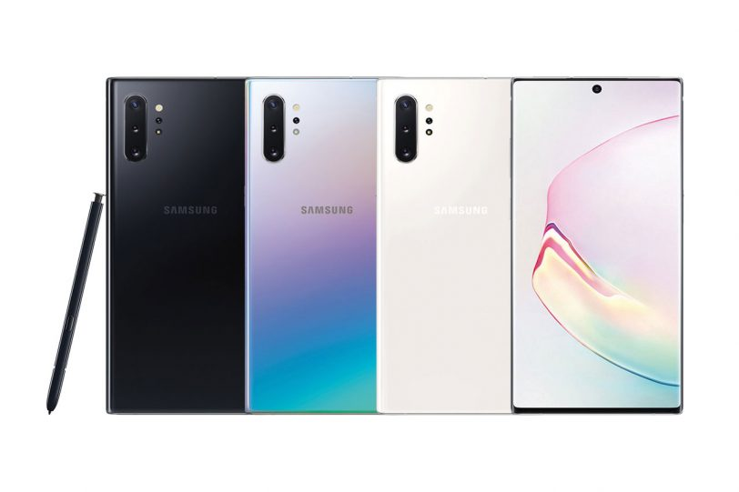 Galaxy Note 10 Plus (מקור: Samsung)