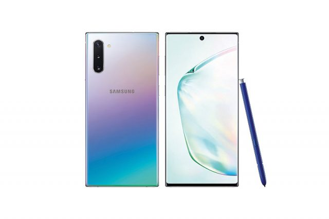 Galaxy Note 10 (מקור: Samsung)