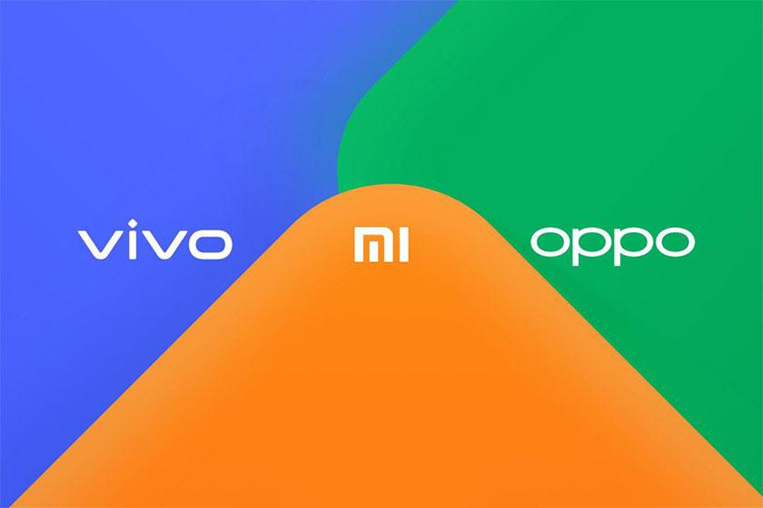 Xiaomi & Oppo & Vivo (תמונה: theverge)