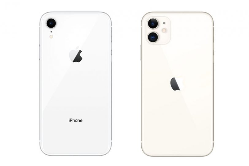 iPhone XR (משמאל) ו-iPhone 11 (מימין) (תמונות: Apple)