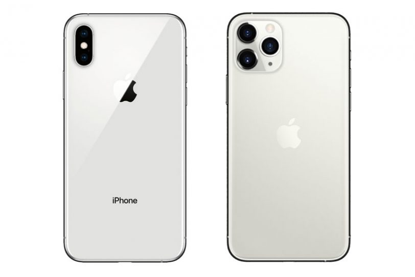 iPhone XS ׁ(משמאל) ו-iPhone 11 Pro (מימין) (תמונות: Apple, Bestbuy)