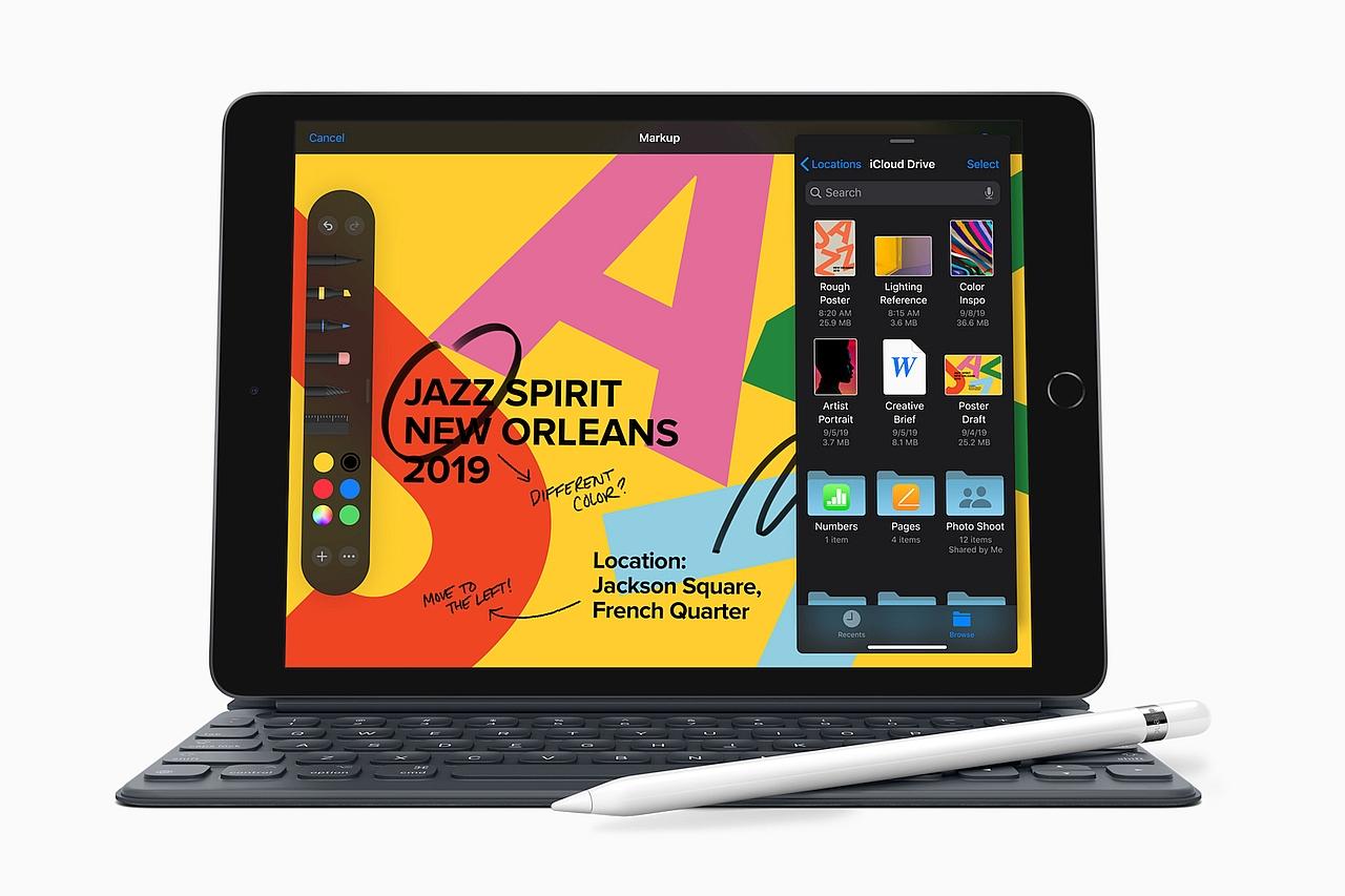 טאבלט iPad דור 7 (מקור אפל)