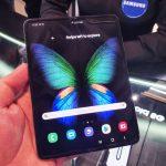 Samsung Galaxy Fold (צילום: יאן לנגרמן, גאדג'טי)