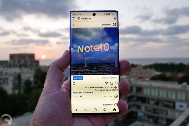 גאדג'טי מסקר: Galaxy Note 10 ו-Note 10 Plus