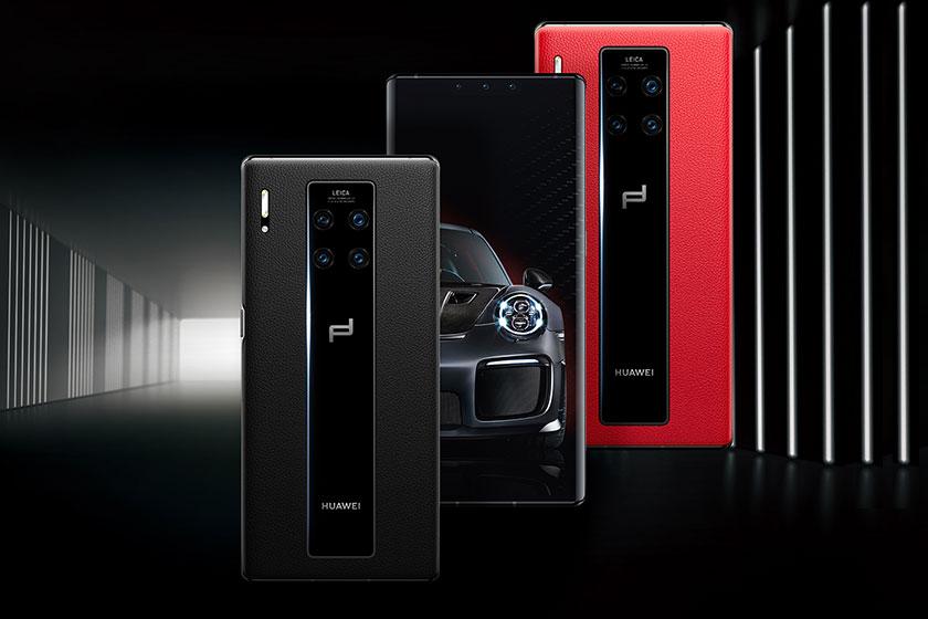 Porsche Design Huawei Mate 30 RS (תמונה: וואווי)