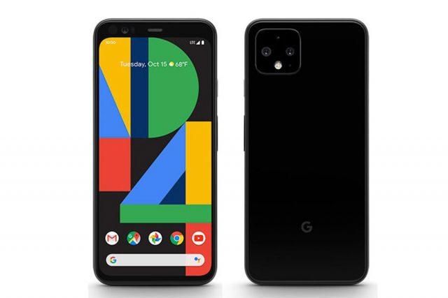 Google Pixel 4 (תמונה: Evleaks/Twitter)