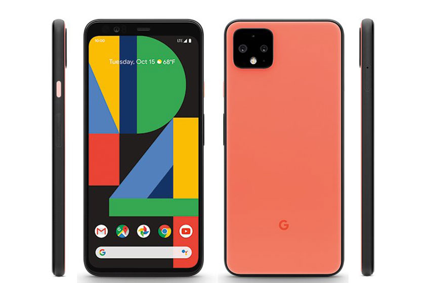 Google Pixel 4 XL (תמונה: Evleaks/Twitter)