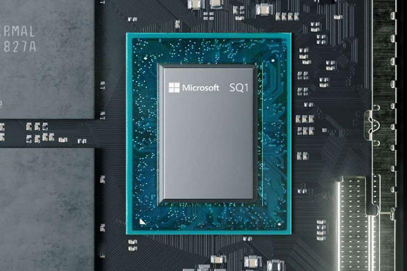 מעבד Microsoft SQ1 (תמונה: Microsoft)