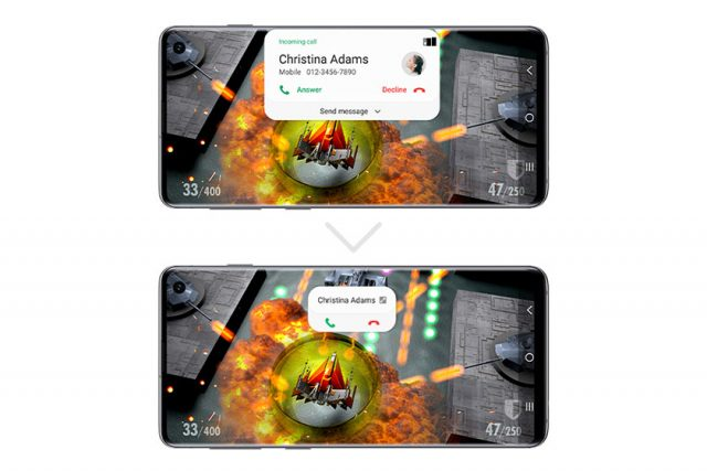 Samsung Improved Notifications (תמונה: סמסונג)