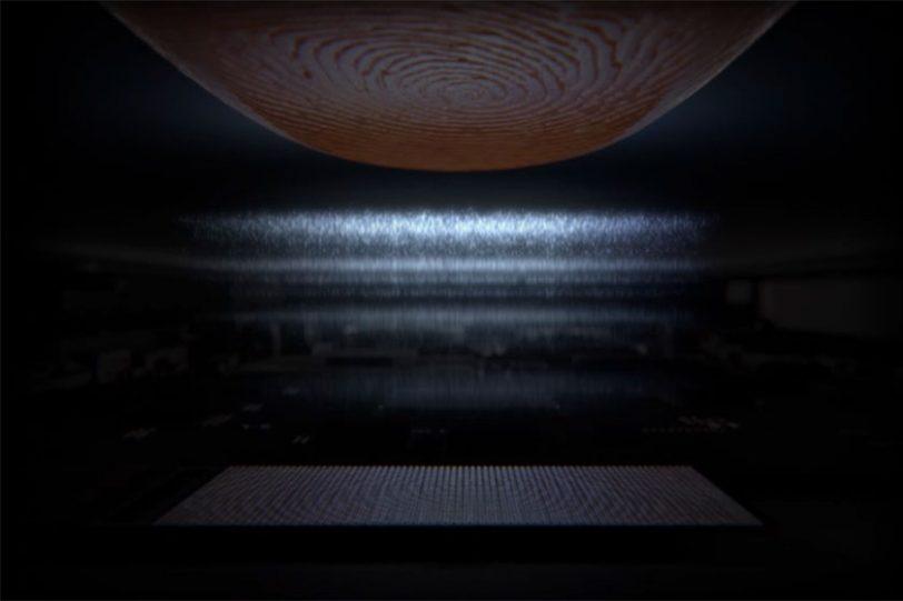 UltraSonic Fingerprint Scanner (תמונה: סמסונג)