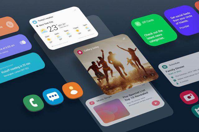 כך נראים אנדרואיד 10 וממשק המשתמש OneUI על ה-Galaxy S10