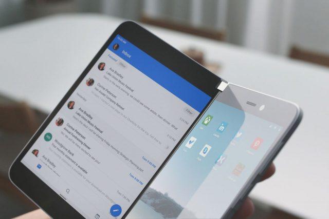 הוכרז: Microsoft Surface Duo – סמארטפון אנדרואיד עם שני מסכים