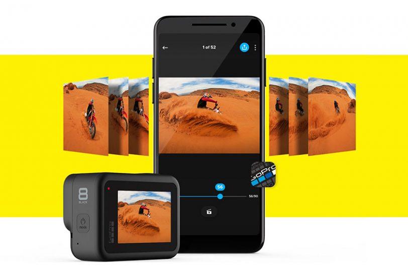 מצב LiveBurst במצלמת GoPro Hero8 Black (תמונה: GoPro)