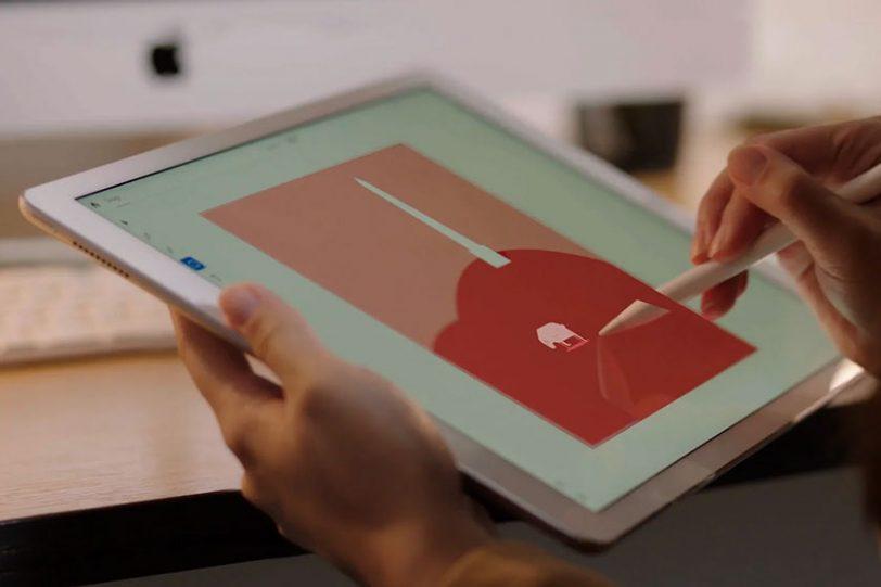 Adobe illustrator on iPad (תמונה: אדובי)
