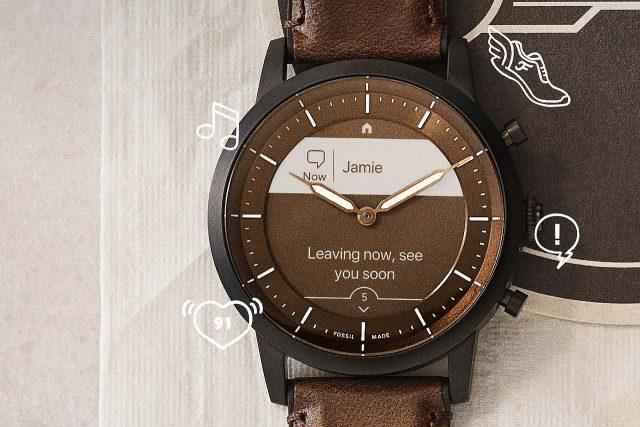 הוכרז: Fossil HR – שעון חכם היברידי עם מסך eInk