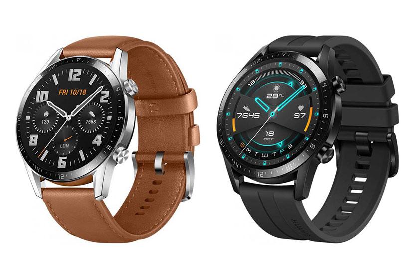 """שעון Huawei Watch GT 2 זהב בגודל46 מ""""מ (מקור Huawei)"""