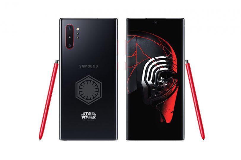 Galaxy Note 10 Plus Star Wars Edition (תמונה: Samsung)
