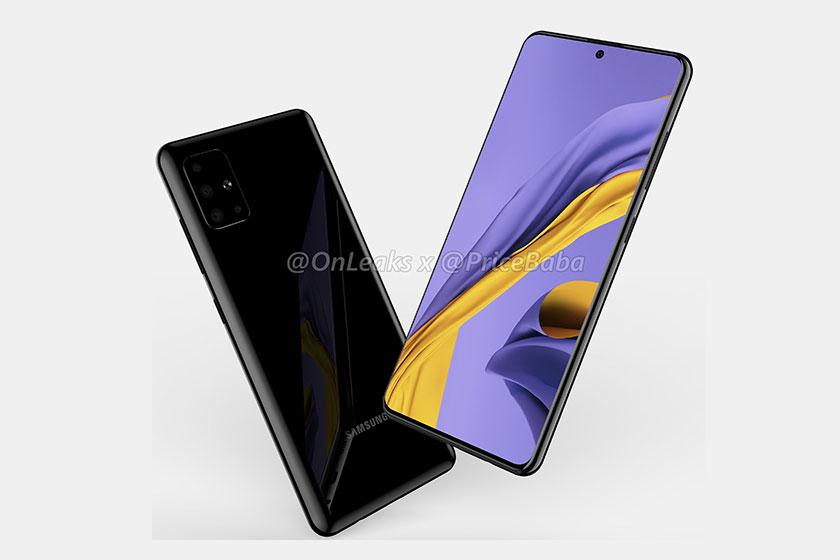 Samsung Galaxy A51 (תמונה: pricebaba)