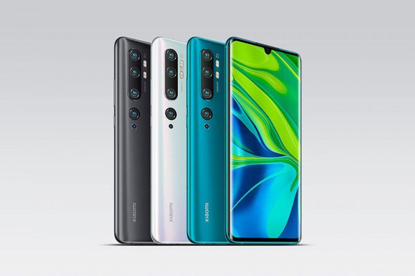 Mi Note 10 (תמונה: Xiaomi)