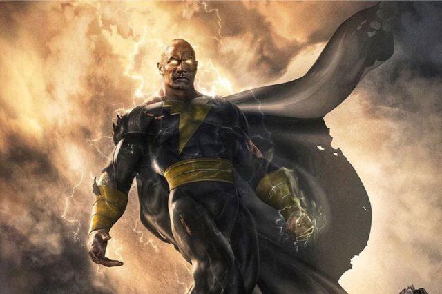 """דוויין ג'ונסון מספק הצצה ראשונה ל""""בלאק אדם"""" – סרט חדש ביקום DC"""