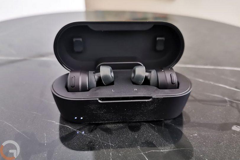 אוזניות Audio Technica ATH-CKS5TW (צילום: רונן מנדזיצקי, גאדג'טי)