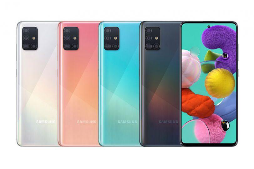Galaxy A51 (תמונה: Samsung)