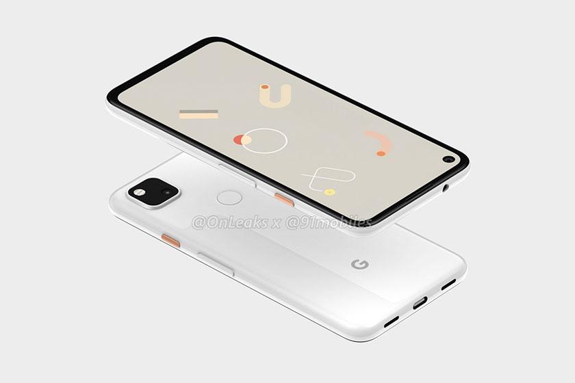 Google Pixel 4a (תמונה: 91mobiles)