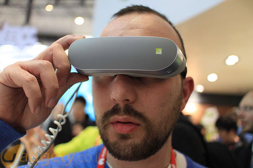 LG Gear VR (צילום: אוהד צדוק, גאדג'טי)
