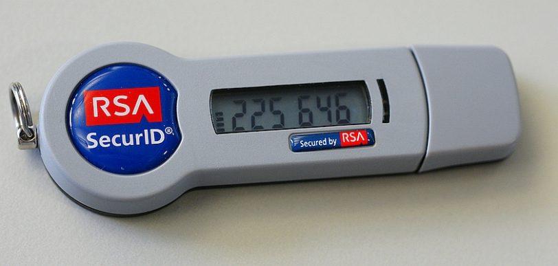 מפתח 2FA פיזי מסוג RSA SecurID