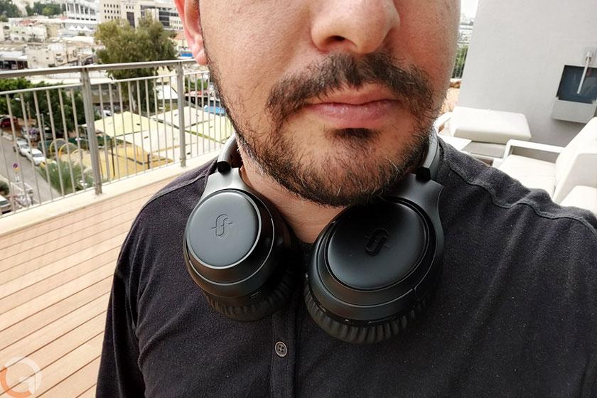 אוזניות TaoTronics Soundsurge TT-BH060 (צילום: רונן מנדזיצקי, גאדג'טי)