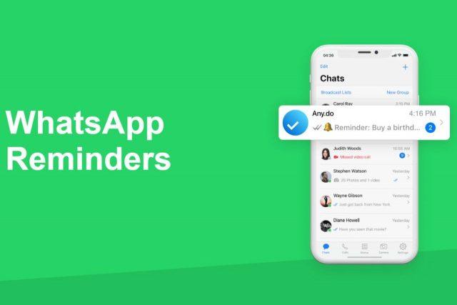 הוכרז: WhatsApp Reminders – צ'ט בוט חדש לניהול משימות בוואטסאפ