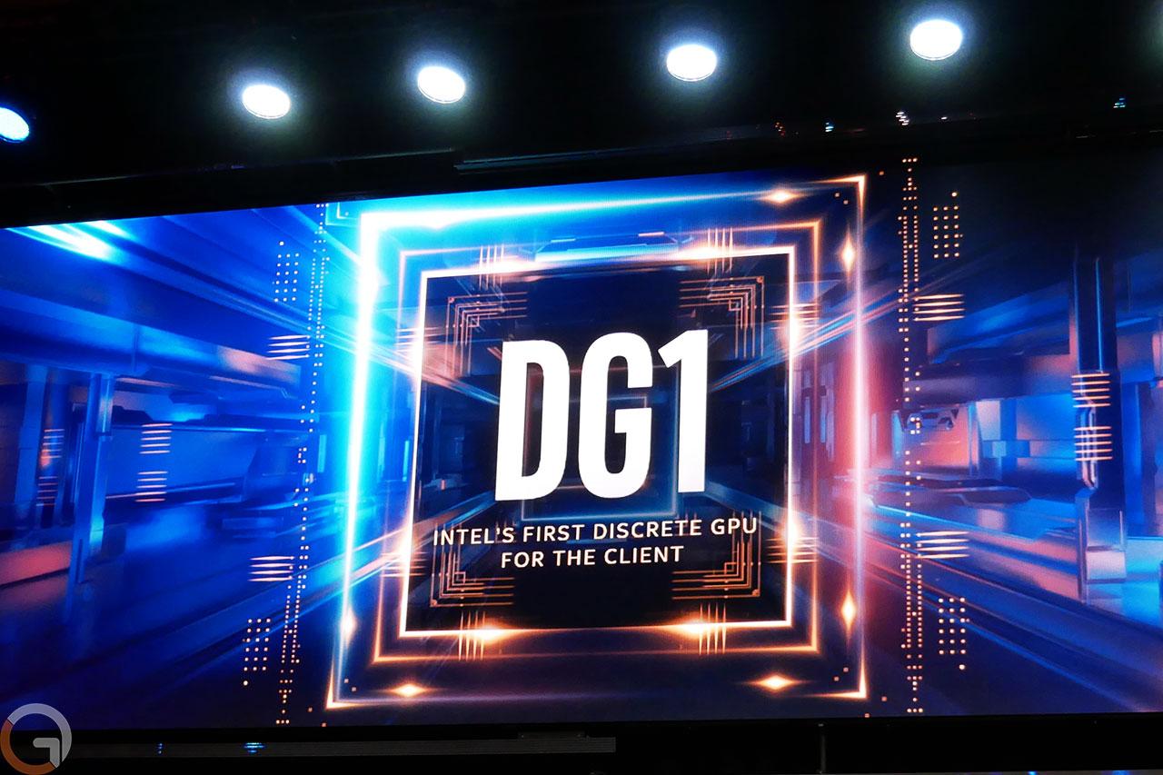 לוגו אינטל DG1