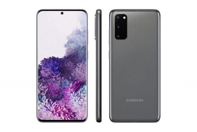 Samsung Galaxy S20 (תמונה: Twitter/Evleaks)