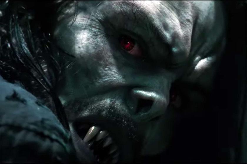 """ג'ארד ליטו מתוך """"מורביוס"""" (תמונה: Sony Pictures)"""