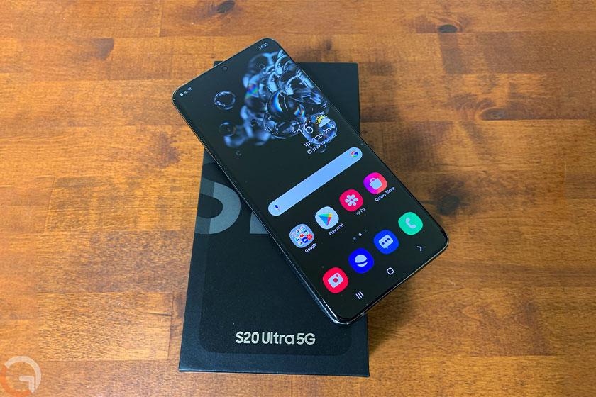 Galaxy S20 Ultra (צילום: אוהד צדוק, גאדג'טי)