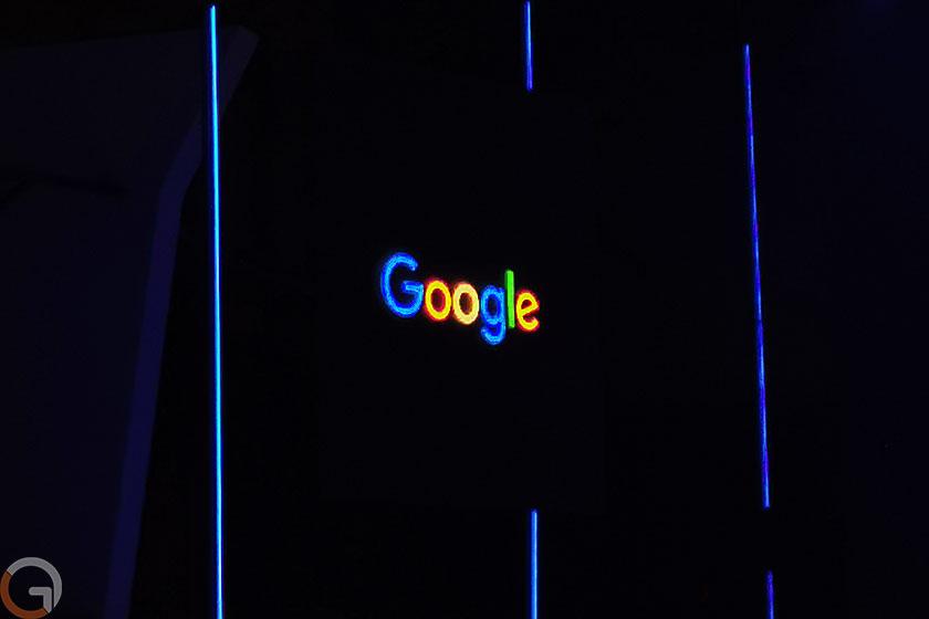 לוגו גוגל ניאון