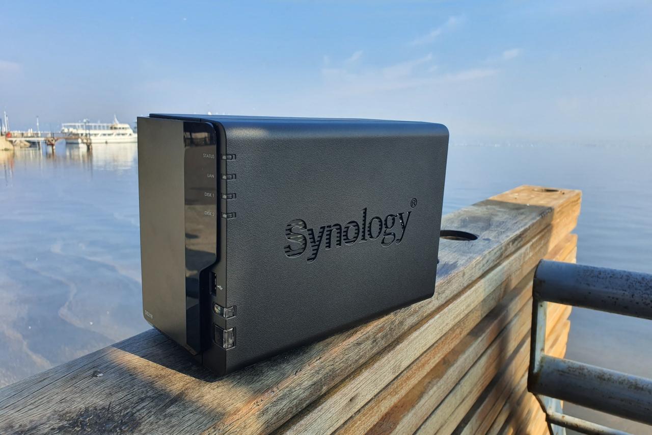 כונן NAS Synology DS218 (צילום – יאן לנגרמן, גאדג'טי)