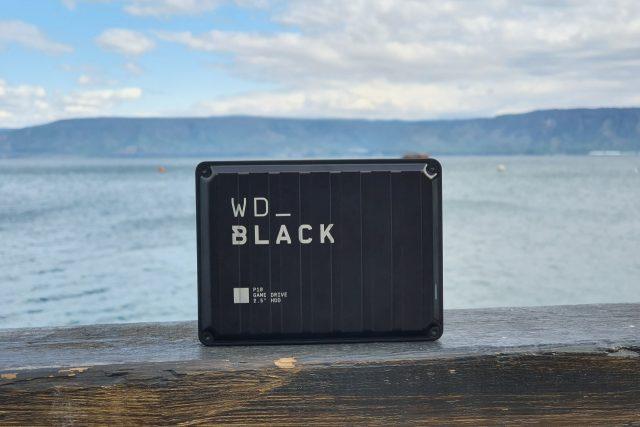 גאדג'טי מסקר: WD_Black P10 Game Drive – כונן קשיח נייד לגיימרים