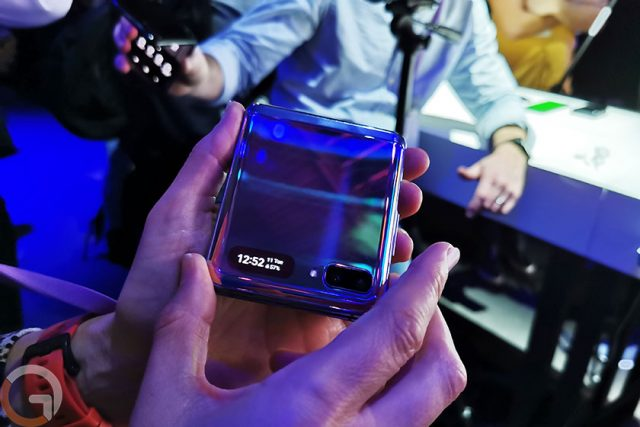 התרשמות ראשונה: Samsung Galaxy Z Flip