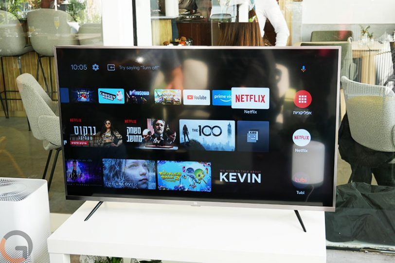 טלוויזיית Xiaomi MiTV 4S 43 (צילום: רונן מנדזיצקי, גאדג'טי)