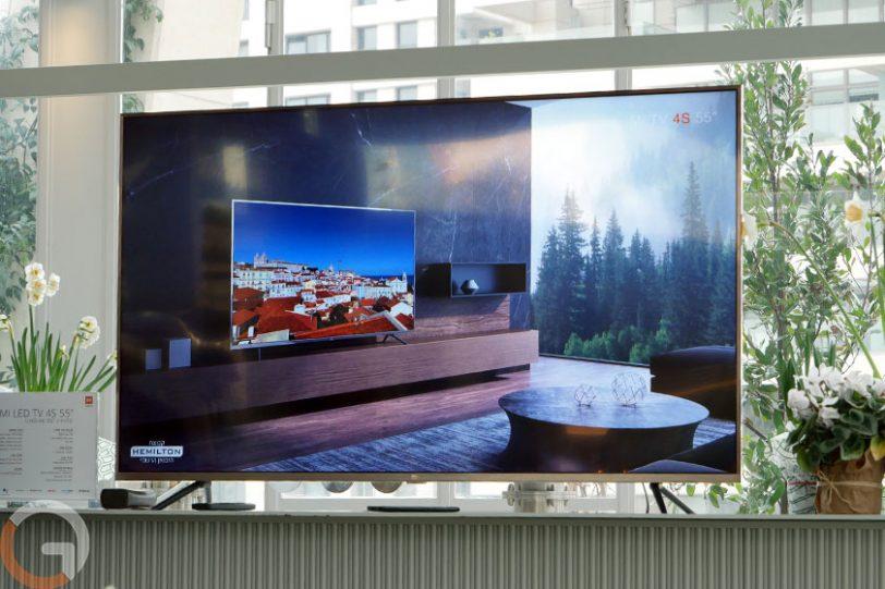 טלוויזיית Xiaomi MiTV 4S 55 (צילום: רונן מנדזיצקי, גאדג'טי)