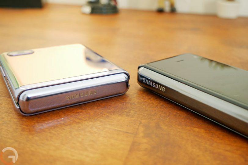 Samsung Galaxy Z Flip ו-Galaxy Fold (צילום: אוהד צדוק, גאדג'טי)