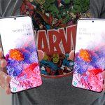 Galaxy S20 Plus ו-Galaxy S20 (צילום: אוהד צדוק, גאדג'טי)